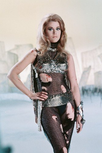 Barbarella Costume - Barbarella Jane Fonda 11x17 Mini Poster Torn Costume Sexy