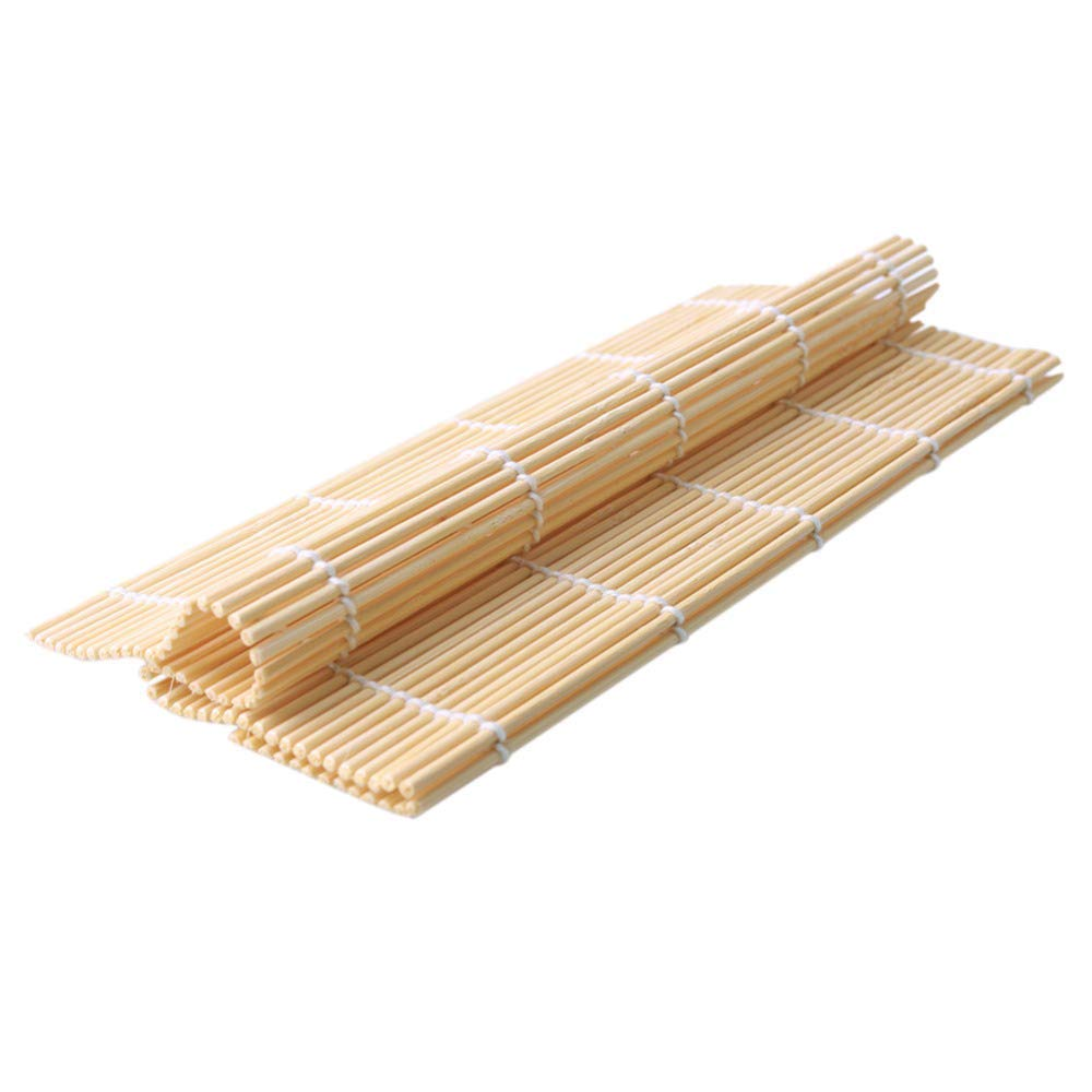 Sushi Bazooka, Sushi Mat and Two Sets of Bamboo Chopsticks and Silicone Helper (Training) Chopsticks,Kitchen Appliance Machine Rice Roller Making Kit by Cook&Life (Image #3)