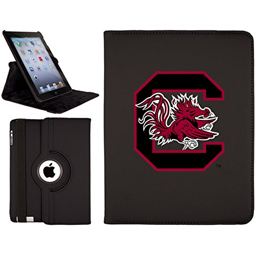South Carolina Gamecocks Pedestal (Coveroo South Carolina - C Design on 2nd-4th Generation iPad Swivel Stand Case  (572-3629-BK-HC))