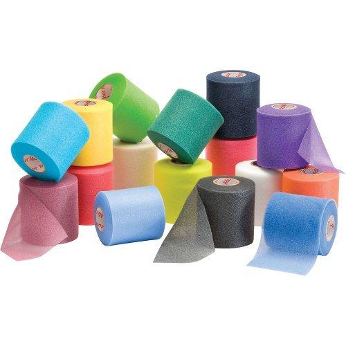 Mueller MWrap Pre-taping foam underwrap - 48 Rolls/Case - Assorted Colors by Mueller ()