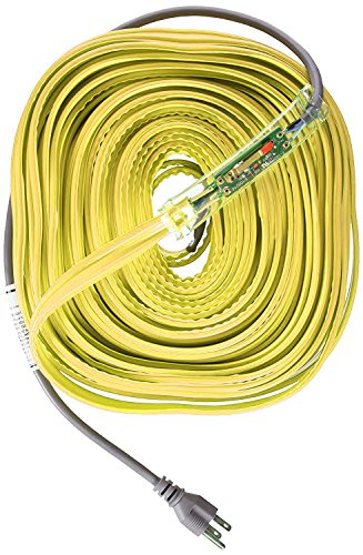 Read About WRAP-ON Pipe Heating Cable - 100-Feet, 120 Volt, Built-in Thermostat, Low Wattage - 31100