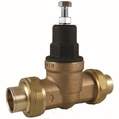Cash Acme 23159-0045 Pressure Regulator, EB45-CC Double Sweat Union, 1-1/4''