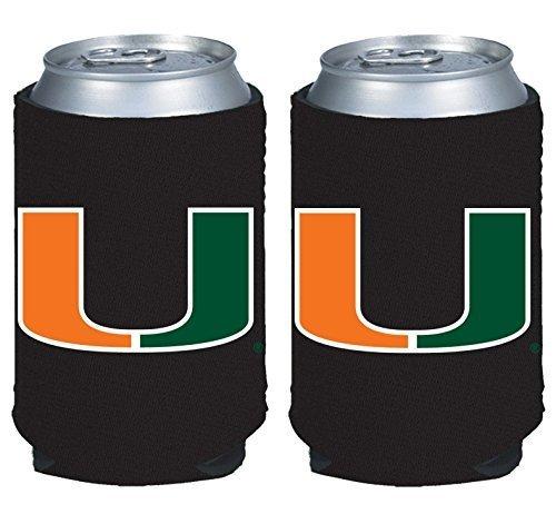 (NCAA College 2014 Team Logo Color Can Kaddy Holder Cooler 2-Pack (LSU)