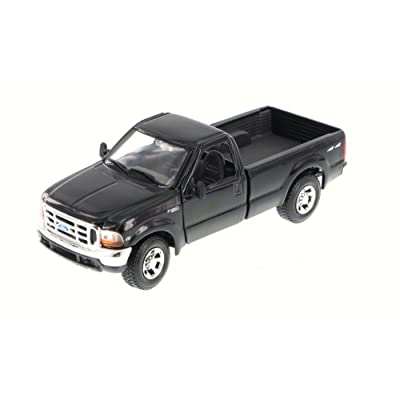 Maisto 31937BK 1: 27 1999 Ford F-350 Super Duty Pickup, Black: Toys & Games