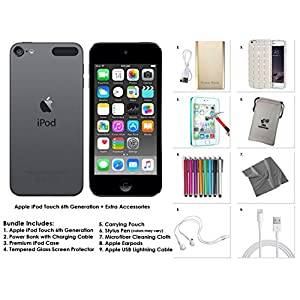 Apple iPod Touch 6th Generation and Accessories, 16GB – Space Grey