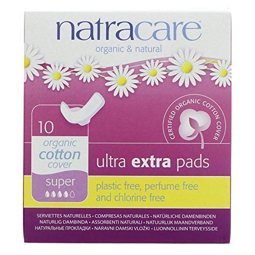 NATRACARE Ultra Extra Pads Super 10s (Pack of 3) by Natracare