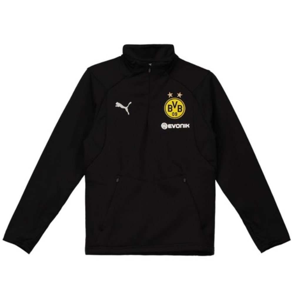 Puma 2018-2019 Borussia Dortmund Training Fleece (schwarz) - Kids