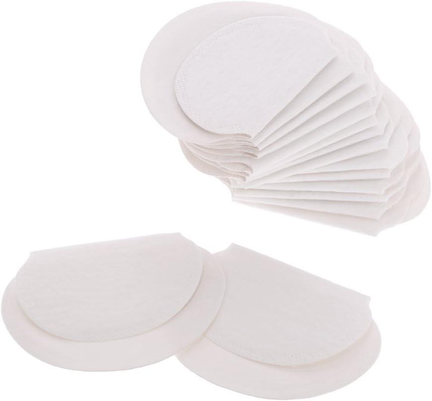 Anself 50 piezas Almohadillas de Sudor