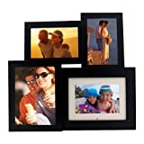 Pandigital 6.0-Inch Digital Picture Frame w/Black Wood Frame