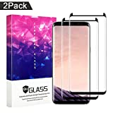Galaxy S8 Plus Screen Protector,ZUOXI Tempered Glass,9H Hardness[Anti-Scratch][Anti-Fingerprint][Bubble Free] for Samsung Galaxy S8 Plus (2 Packs)