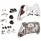 Game Bully Xbox One Controller Full Housing Shell - Chrome Silver