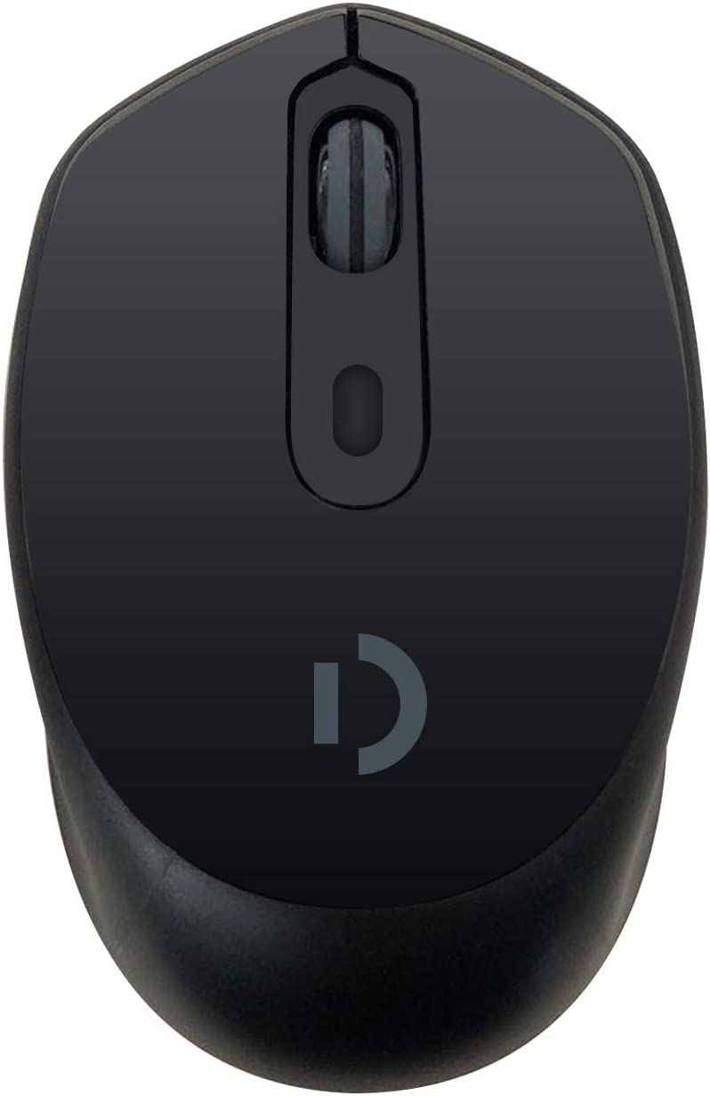 Wireless Portable Mobile Mouse Optical Mice with USB Receiver, 3 Adjustable DPI Levels, Buttons for Notebook, PC, Laptop, Computer - Black