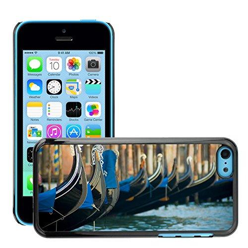 Premio Sottile Slim Cassa Custodia Case Cover Shell // V00002681 Venise // Apple iPhone 5C