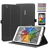 lg 3 tablet cases - Mignova LG G Pad X 8.0/G Pad 3 8.0 Case, Folio Premium Leather Cover For LG G Pad X 8.0 Tablet (T-Mobile V521WG)/G Pad III 8.0 V525 2016 Release + Screen Protector Film and Stylus Pen
