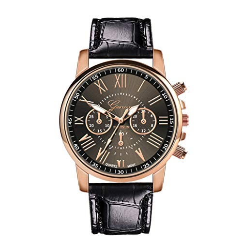 - Hessimy Womens Fashion Watches New Ladies Business Classic Luxury Geneva Watch Unisex Sport Casual Leather Band Retro Analog Quartz Wrist Watch Watches for Women On Sale