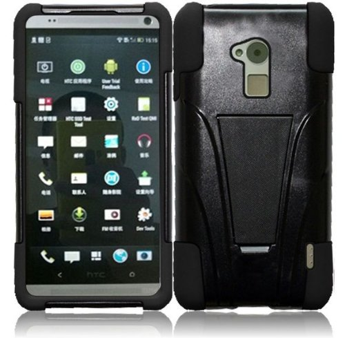 lf-hybrid-dual-layer-case-with-stand-lf-stylus-pen-screen-wiper-accessory-for-htc-one-max-t6-black-b