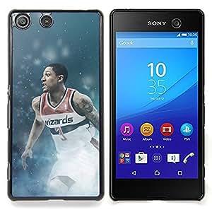 For Sony Xperia M5 - Wizards 3 - Basketball /Modelo de la piel protectora de la cubierta del caso/ - Super Marley Shop -