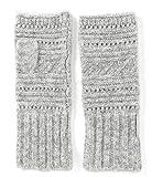 Michael Michael Kors Women`s Stitch Mix Arm Warmers (Grey(3795), One Size)