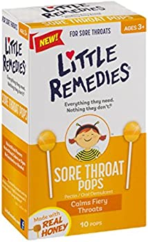 Little Remedies Sore Throat Pops 10 Count