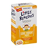 #7: Little Remedies Sore Throat Pops, 10 Count, Calms Fiery Throats, Ages 3+