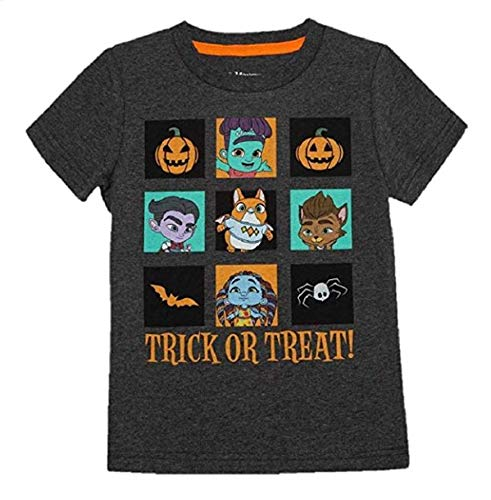 (Hybrid Baby Boys Super Monsters Trick or Treat Halloween T-Shirt (18)