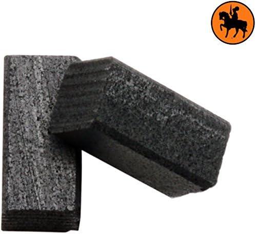 Balais de Charbon pour BLACK /& DECKER BD175 2.0x2.0x3.9 5x5x10mm