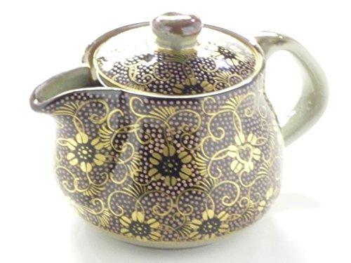 kutani hyakkaen teapot small pinktibu flower pattern