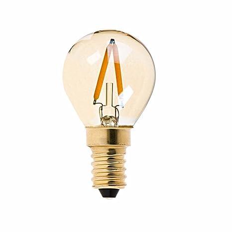 (5 unidades) Oro Tint, 1 W, G40 Globe Bombilla, Edison –
