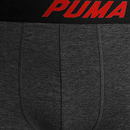 PUMA Mens 4 Pack Cotton Blend Classic Boxer Briefs