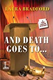 And Death Goes To . . . (A Tobi Tobias Mystery Book 3)