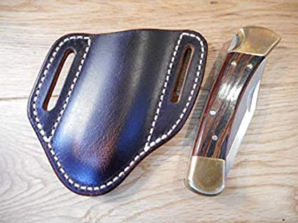 Amazon.com: Buck 110/112 Pancake cuchillo de piel vaina ...