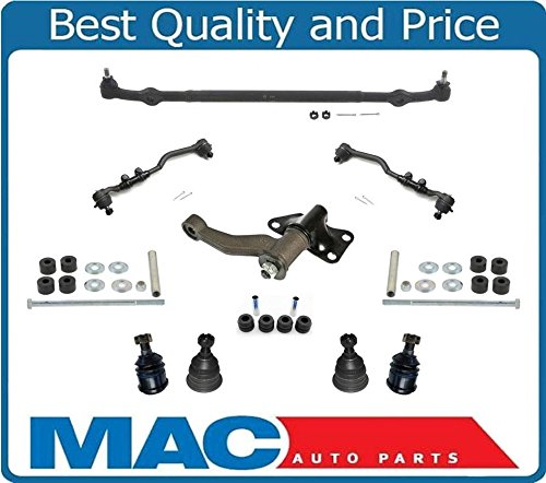 (Ball Joints Tie Rods I arm Center Link 11p For 1998-2004 Nissan Frontier 4 Cly Rear Wheel Drive)