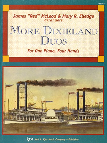 WP567 - More Dixieland Duos For One Piano, Four Hands