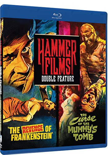 Hammer Film Double Feature: The Revenge of Frankenstein / The Curse Of The Mummy's Tomb [Blu-ray] [Import] (Hammer Horror Blu Ray Collection)
