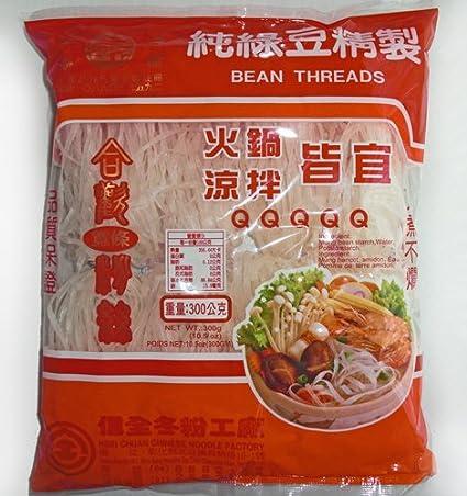 Amazon Com 5q Wide Bean Threads Noodles 3pks Total 31 5 Oz