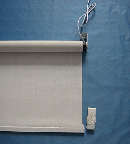 Gowe motorized roller blinds, 1.8m wide