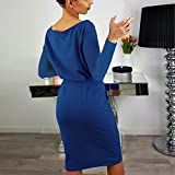 Womens Casual Long Sleeve Party Bodycon Sheath