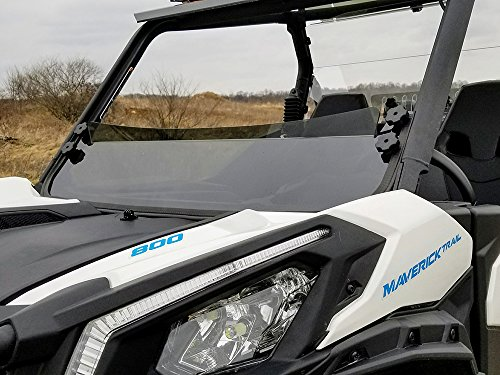 Can AM Maverick Trail/Sport Tinted Half Shield (Can Am Maverick Windscreen)
