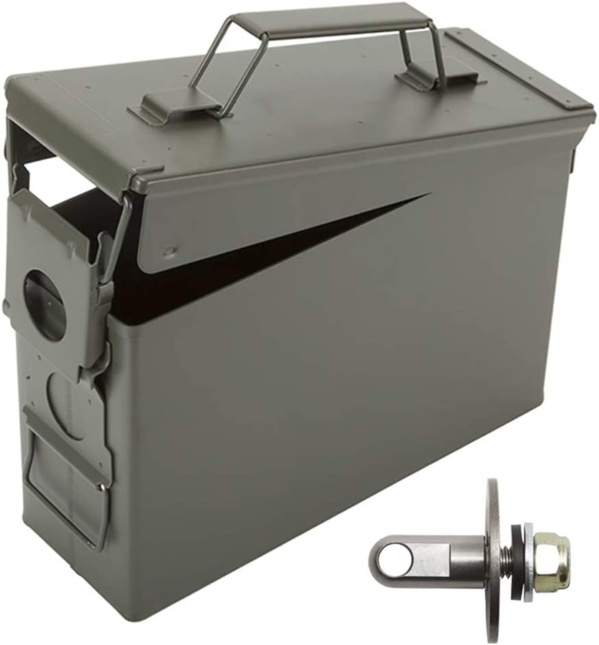 20 mm Ammo Box Can Lock Hardware Kit for .50 Cal 30 Cal Fits The Heritage Costco Ammo Cans Set of 4 40 mm Ammunition Cans Fat 50