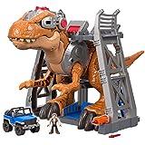Imaginext - Imx Jw Jurassic Rex Fmx85 Fisher Price Várias