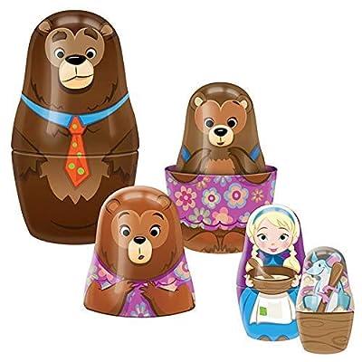 Schylling Goldilocks Nesting Dolls GLND: Toys & Games