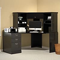 Bush Furniture MySpace Stockport Office Set in Black Finish