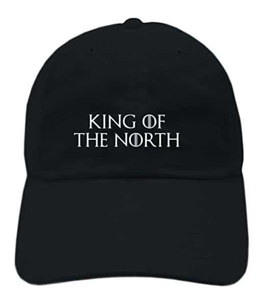 Game of Thrones Inspired  quot King Of The North quot  Embroidered Dad Hat  ... ec0decc4c92