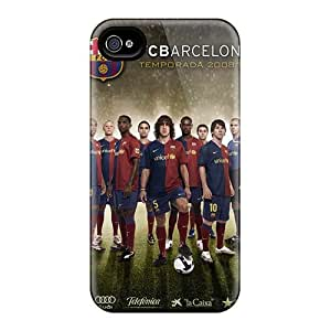 New Style 4/4s Protective Cases Covers/ Iphone Cases - Fc Barcelona