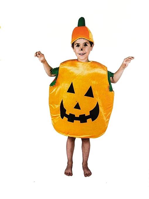 LEMON TREE SL Disfraz para Halloween de Infantil de Calabaza ...