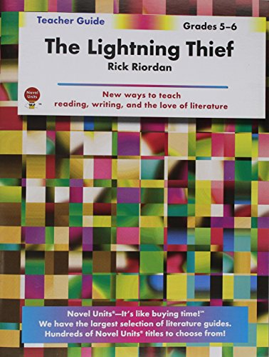 The Lightning Thief- Teacher Guide by Novel Units, Inc
