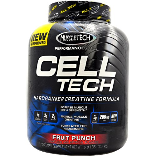 MuscleTech Performance Series Cell-Tech Fruit Punch -- 5.95 lbs (Cell Tech Muscletech)