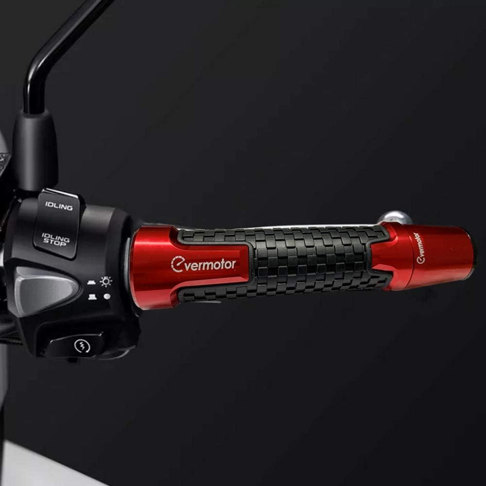 Schwarz Universal-Antirutsch-Lenker Handgriffe Lenkerende Gummi-Gel-Lenker Neufday 1 Paar 1-7//8 Motorrad-Handgriffe