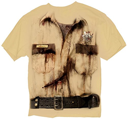 The Walking Dead- Ricks Costume T-Shirt Size S