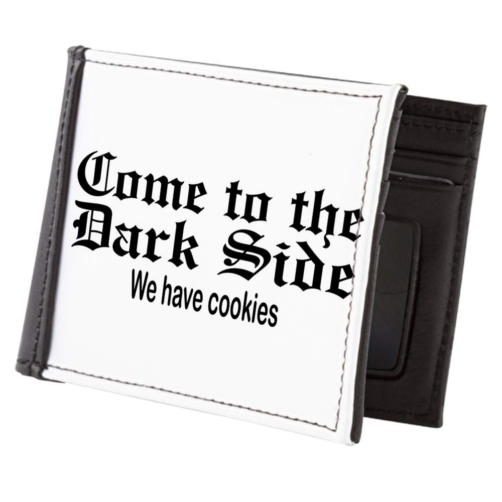 Royal Lion Mens Wallet Billfold Come to the Dark Side We Have Cookies